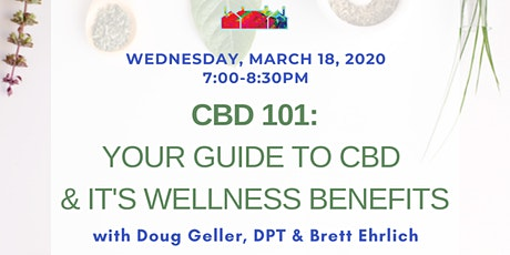 CBD 101: Your Guide to CBD & It's Wellness Benefits tickets