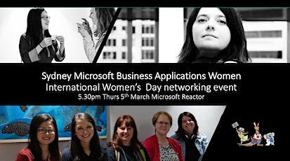 5 March  Microsoft BizApps Women - International Women Day event tickets
