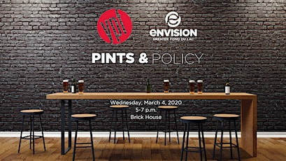 Pints & Policy tickets