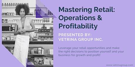 Mastering Retail: Operations & Profitability tickets