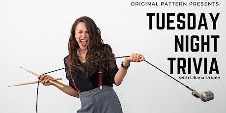 Tuesday Night Trivia with Liliana Urbain tickets