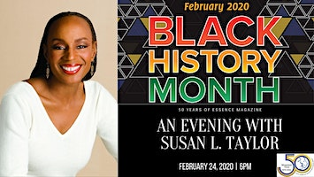 An Evening with Susan L. Taylor: Celebrating 50 years of Essence Magazine
