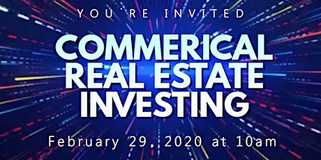 Commercial Real Estate Investing tickets