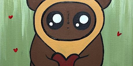 'Ewok my world' Paint class at Prisms Gallery, Salem Oregon tickets