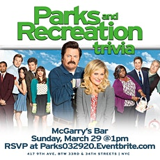 """Parks and Recreation """"Brunch"""" Trivia tickets"""