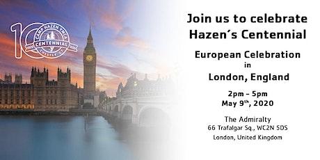 Hazen's Centennial - European Celebration in London tickets