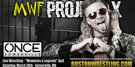 POSTPONED MWF Project X:  Loose Cannons (Wrestling Event) tickets