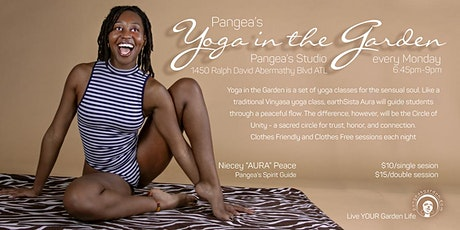 Pangea Yoga in the Garden Series tickets