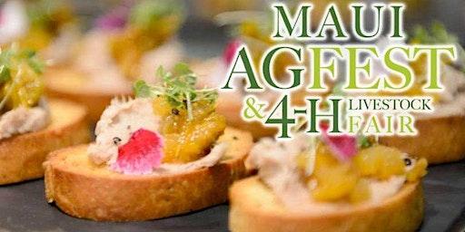 Grand Taste at Maui AgFest & 4-H Livestock Fair 2020