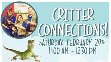 Critter Connections at Greenstreet Gardens!