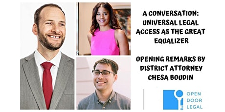A Conversation: Universal Legal Access as the Great Equalizer tickets