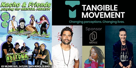 Tangible Movement x NOSTGMA Band Mental Health Benefit Concert & Survivor Testimonials for Charity!  tickets