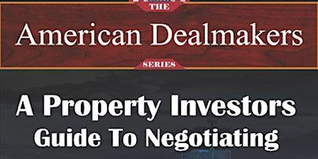 George F. Donohue world-renowned expert real estate negotiator and author. tickets
