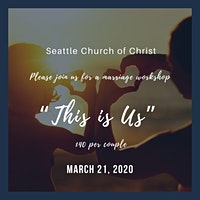 """This is Us"" Marriage Workshop"