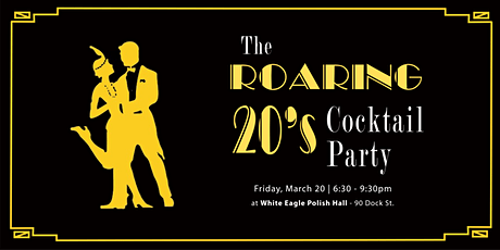 20's Cocktail Party - Fundraising Event tickets