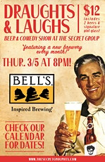 DRAUGHTS & LAUGHS: BEER & COMEDY SHOW! Feat. Bells Brewing! tickets