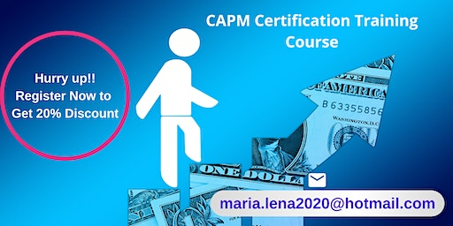 CAPM Certification Training in Auberry, CA
