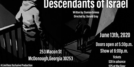 Descendants of Israel tickets