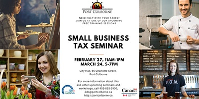 Small Business: CRA Tax Seminar