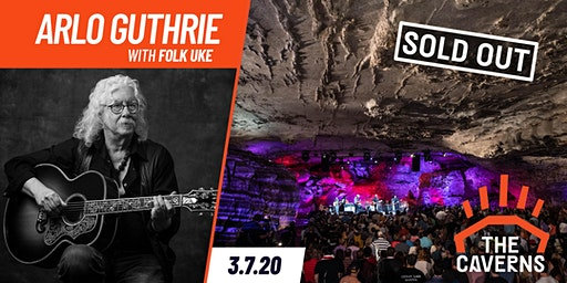 Arlo Guthrie in The Caverns with Folk Uke
