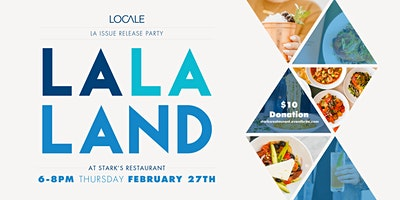 Locale Issue Release Party at Stark's Restaurant
