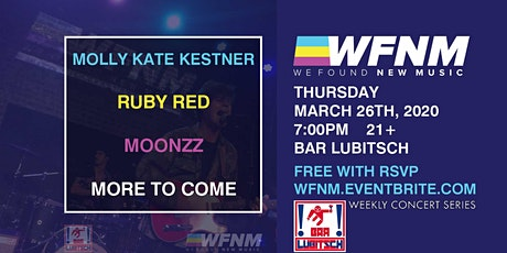 MOLLY KATE KESTNER / RUBY RED / MOONZZ / RYAN WOODS tickets