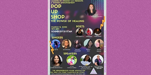 Leading by Mission LLC Pop-Up Shop: Women Empowerment: The Power of Healing