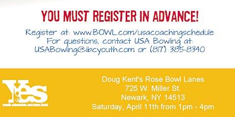 FREE USA Bowling Coach Certification Seminar - Doug Kent's Rosebowl Lanes tickets