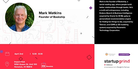 Fireside Chat with Mark Watkins (Bookship) tickets