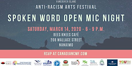 Spoken Word Open Mic Night - Anti-Racism Arts Festival tickets