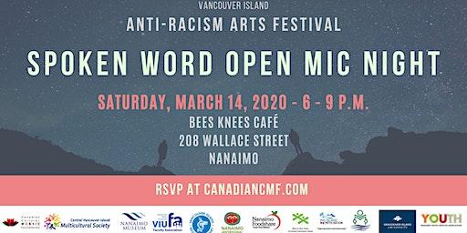 Spoken Word Open Mic Night - Anti-Racism Arts Festival