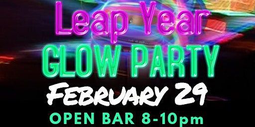 Leap Year Glow Party @ Vibrations Nightclub