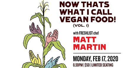 Now, That's What I Call Vegan Food! Vol.1 tickets