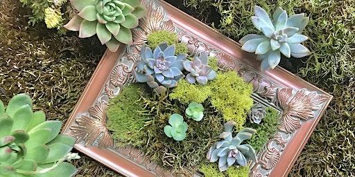 Frame Design with Live Plants