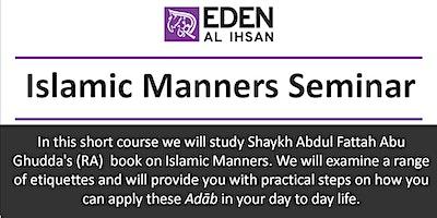 Islamic Manners Seminar