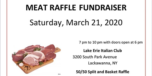 MEAT RAFFLE to benefit HEART Animal Rescue