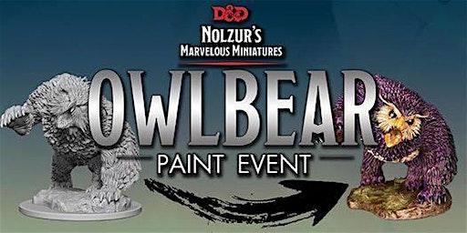 Extra Life Owlbear Paint 'n Take