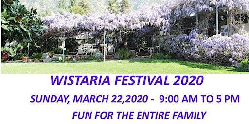 2020 WISTARIA FESTIVAL