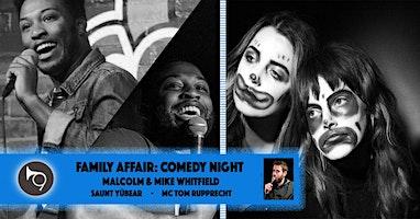 Family Affair: Hollerhorn Distilling Comedy Night