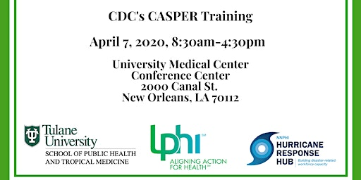 CDC Full-Day CASPER Training