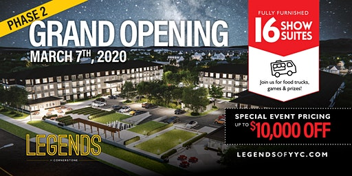 Legends: Phase 2 Grand Opening!