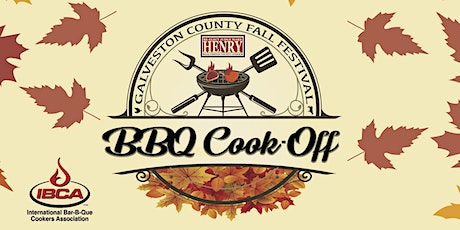 2nd Annual Galveston County Fall Fest & BBQ Cook-Off Registration tickets
