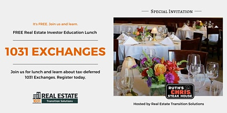 April 2020 Investment Property Owner Education Lunch: 1031 Exchange Basics tickets
