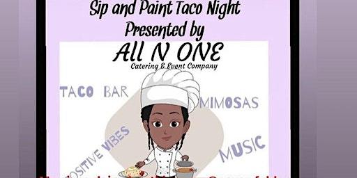 Paint & Sip Taco Event
