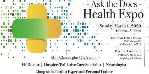 - Ask the Docs - Health Expo