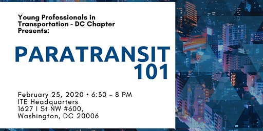 YPT Presents: Paratransit 101
