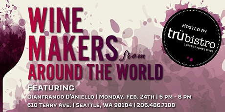 Wine Makers from Around the World tickets