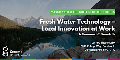 Fresh Water Technology – Local Innovation at Work