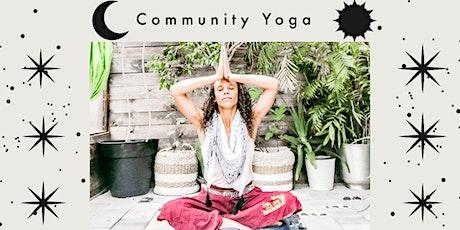 Commuity Yoga tickets
