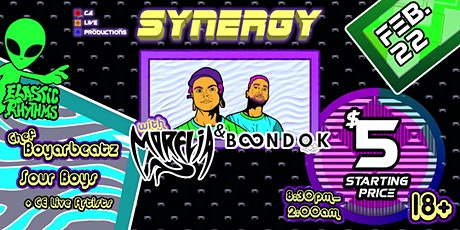 Synergy OC Presents: Morelia and Boondok tickets